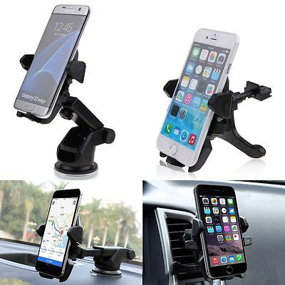 Universal 360° Dashboard/Windshield/Air Vent Car Mount Holder For Cell Phone GPS