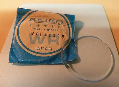 NOS SEIKO Mineral Glass Crystal 320W32GN For 6309 & SEE LIST FOR FULL CASE #'s