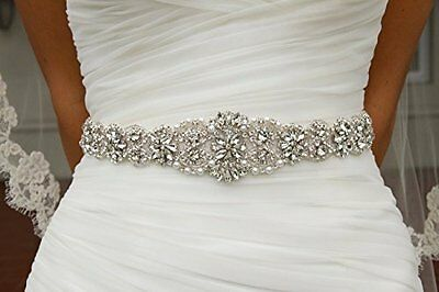 Wedding Sash Ivory ~Bridal Sash, Wedding Sash Rhinestone, Wedding Sash Belt,