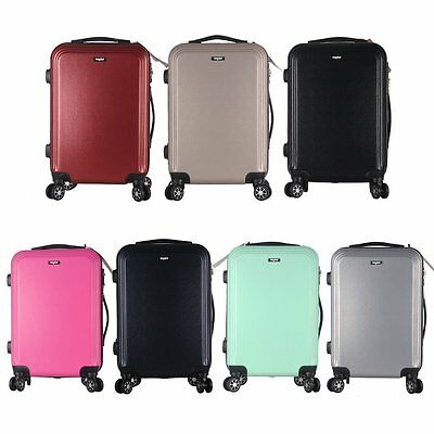 Large Medium Cabin Approved Sunydeal ABS Hard Shell Durable 4 Wheels Spinners
