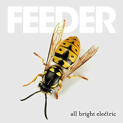 Feeder : All Bright Electric CD (2016) ***NEW*** FREE Shipping, Save £s