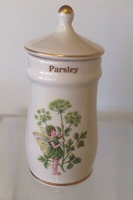 The Flower Fairy Spice Jars 1989 - Parsley