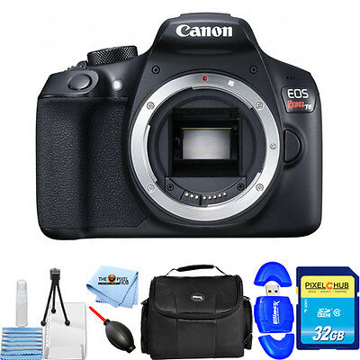 Canon EOS Rebel T6 DSLR Camera (Body Only)!! STARTER BUNDLE BRAND NEW!!