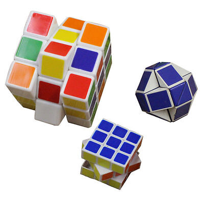 3 x Professional Ultra-smooth Magic Cube Speed Twist Puzzles Brain Teasers