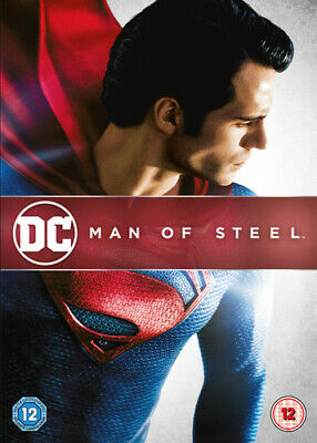 Man of Steel DVD (2013) Henry Cavill, Snyder (DIR) cert 12 Fast and FREE P & P