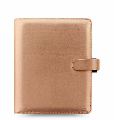 Filofax - Special Edition A5 Saffiano Rose Gold - Leather Look Organiser