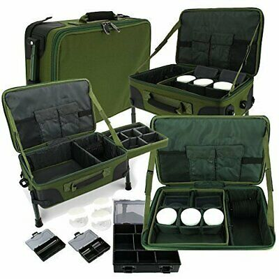 NGT Carp Fishing Tackle Station With Bivvy Table Box System Carryall Bag  914