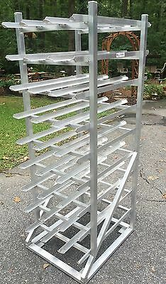 Used - New Age 1250CK Aluminum Restaurant / Kitchen Heavy Duty Can Rack