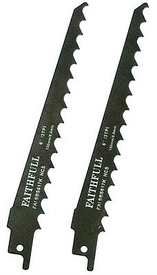 FAITHFULL S617K RECIPROCATING (SABRE) RECIPRO FOR WOODS SAW BLADES - Pack of 2