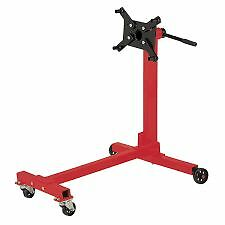 A Heavy Duty Swivel Transmission Gearbox Engine Support Stand 1000 lbs 450kg