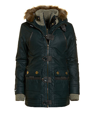 Superdry Mujer Trenca Alpine Smoked Forest
