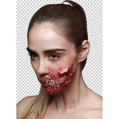 Prosthetic Wounds Bite Me Halloween Fancy Dress