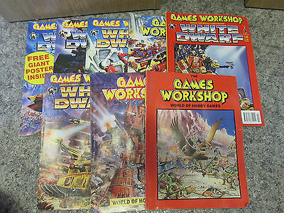 Collection Of White Dwarf & Games Workshop Magazines