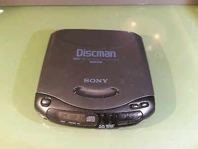 Vintage Sony CD walkman portable D-142CK good Shape Tested working well
