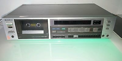 Sony Vintage cassette deck TC-FX600 motor spins too fast for parts or repair