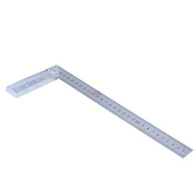 30cm Stainless Steel Right Measuring Angle Square Ruler T8