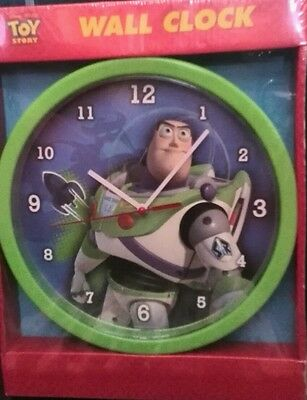 TOY STORY Buzz Lightyear PIXAR wall clock.
