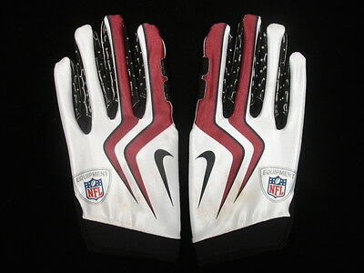 Larry Fitzgerald Arizona Cardinals Game Used Gloves