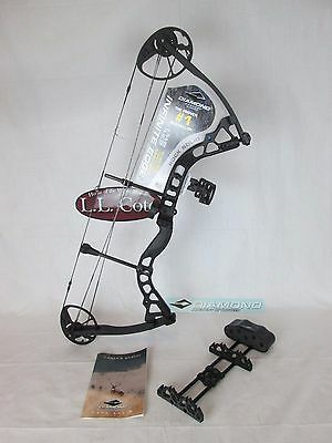 NEW Diamond Infinite Edge Compound Bow LEFT Hand Black ops 5-70 lbs 13-30in. pac