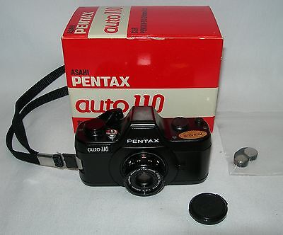 Pentax Auto 110 SLR Camera and 24mm f2.8 Lens