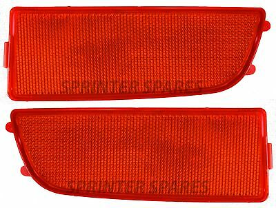 Mercedes Sprinter Rear Bumper Corner Red Reflector Pack Right OS Left NS 2006 On