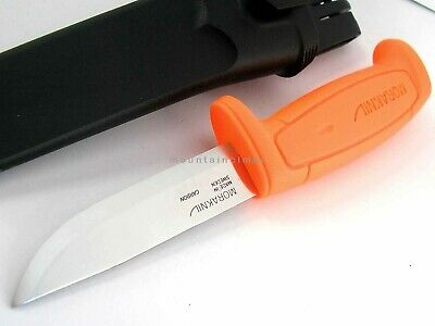 Mora Morakniv Basic 511 Skinner Carbon Steel Blade Knife Sweden 511 ORANGE