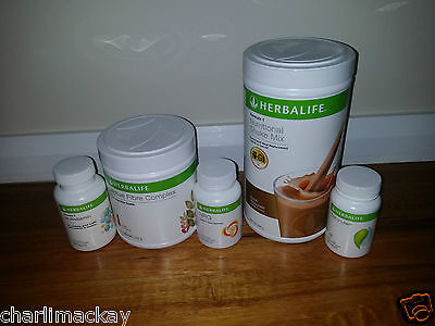Herbalife Quickstart Weight Loss Programme CHOCOLATE EXP: 5/2017 ONWARDS