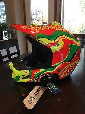 Troy Lee Designes Galaxy Black/Yellow Size Extra Large