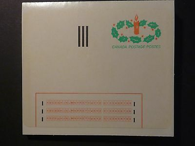 Canada Stick 'N' Tick 1983, Strip of 22 Mint labels, Scarce like this