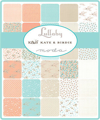 Patchwork/quilting Fabric Moda - Lullaby - Charm Squares/packs