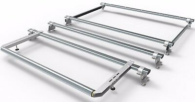 Vauxhall Vivaro AERO-TECH Van Roof rack - 4 bar + rear roller- AT5+A30
