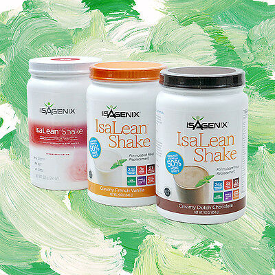 Isagenix IsaLean Nutritional Protein Shake 840g x 1 - Choose from 3 flavours!