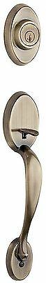 Chelsea Single Cylinder Antique Brass Handleset Less Interior Pack Feat SmartKey