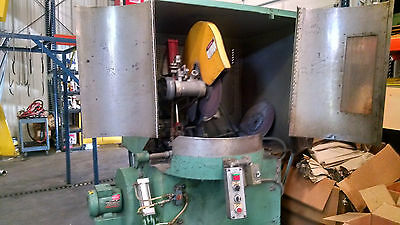 "20HP totally enclosed 20"" abrasive cutoff saw"