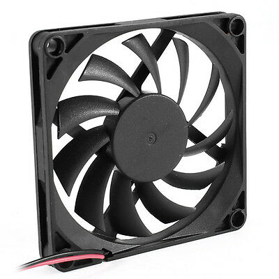 80mm 2 Pin Connector Cooling Fan for Computer Case CPU Cooler Radiator CT