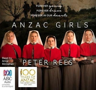 NEW The ANZAC Girls By Anna McGahan Audio CD Free Shipping