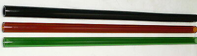 Glass Blowing Lampwork Tubing Boro Pyrex Color Mix  25Mm X 4Mm Heavy Wall Tube