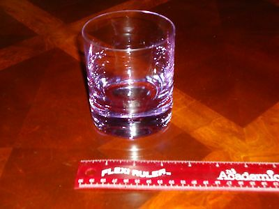 """Rare Moser Heavy Crystal 4"""" Tumbler Cocktail Glass Purple/ Lavender Beautiful!!!"""