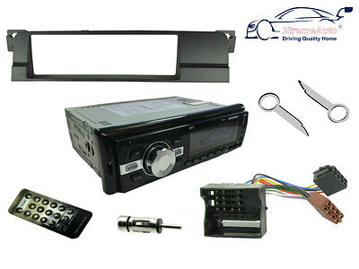 BMW 3 SERIES 01-05 E46. Bluetooth Car Stereo Head Unit Radio, USB + Fascia Kit