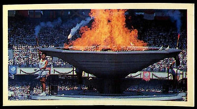 Olympic Challenge 1992 #33 Olympic Flame Brooke Bond Tea Card (C277)