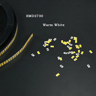100pcs SMD/SMT 5730 LED Big-chip 0.5W High Power Cool/Warm White Durable
