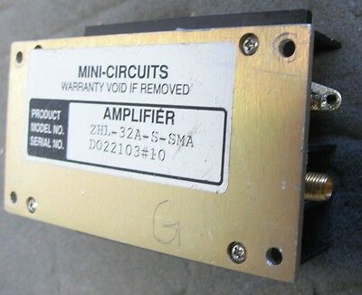 Mini Circuits ZHL-32A-S 130MHz Amplifier, +29dBm output power. TESTED! 25dB Gain