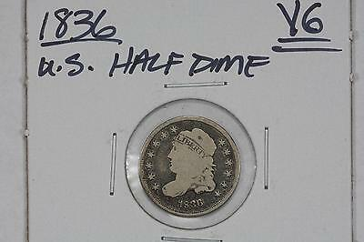 1836 Capped Bust Half-Dime Vg