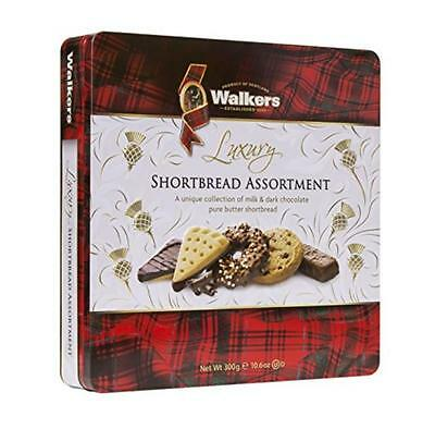 NEW Walkers Shortbread Luxury Chocolate Assortment Tin