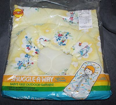 Rare Vintage Disney Snuggle-A-Way Buntie Bag For Babies NOS