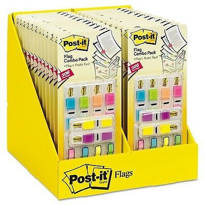 """Post-it Flags, 0.5"""" x 2"""", Assorted Brights, 306 Flags"""