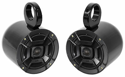 "Pair Polk Audio 6.5"" 300 Watt Marine Boat Wakeboard Tower Speakers"