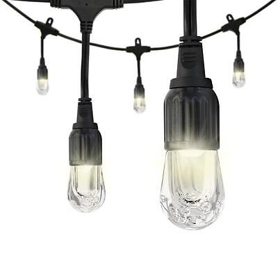 Enbrighten Cafe 18 ft. Durable LED Impact and Weather Resistant String Light