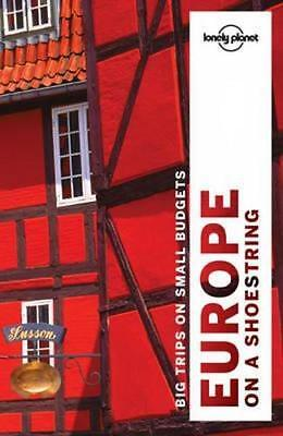 NEW Europe on a Shoestring By Lonely Planet Travel Guide Paperback Free Shipping