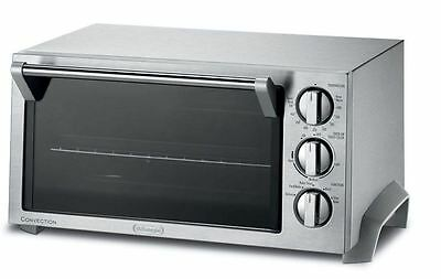 NEW Stainless Steel Bake w/ Convection Toaster Oven for Kitchen w/ Broil, Toast